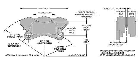 Wilwood GP 310 Motorcycle Rear Disc Brake Calipers | JEGS