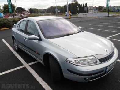 2002 Renault Laguna For Sale - Very low mileage only 49k genuine miles with a Full Main Dealer Doc...