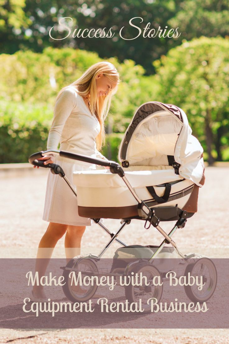 I love hearing about unique small business ideas. And sharing them with you! Today we have Krista Nilsen Bordner stopping by to share how she is making money as the owner of a baby equipment rental business. Very cool!