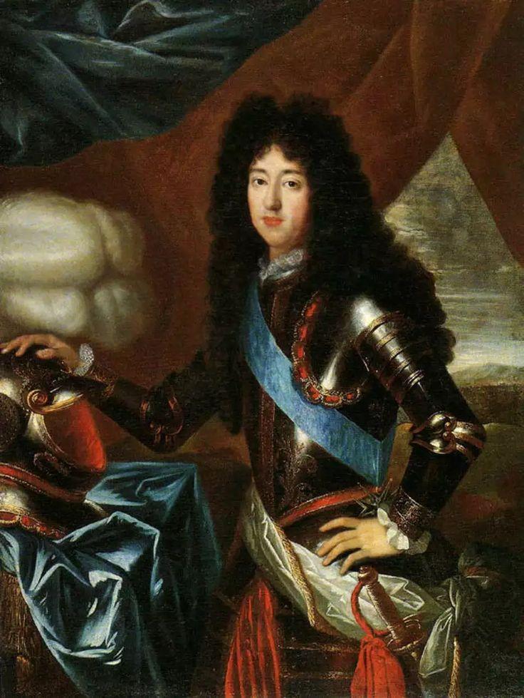 Philippe de France, Monsieur, duc d'Orléans, par Henri Gascar