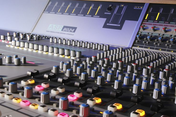 ASP8024 Large Format Recording Console | Audient