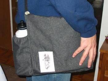 Darth Baby Diaper Bag **with side bottle pocket tutorial below** - PURSES, BAGS, WALLETS