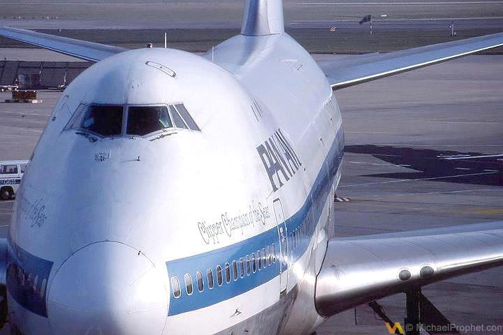 Pan Am B747 Champion of the Seas at Frankfurt Airport