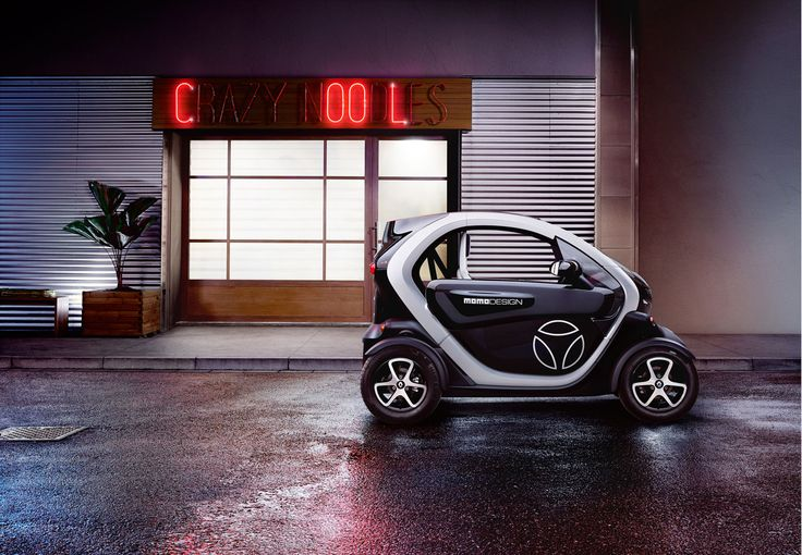 Renault ZE by Fulvio Bonavia #renault #ze #car #electro