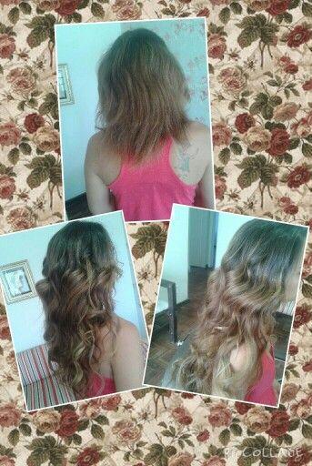 Mega hair queratina love