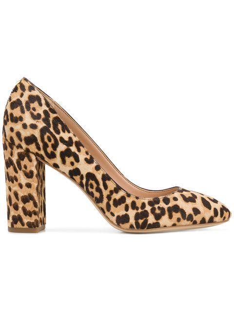 d202b1e7b Sam Edelman Leopard Printed Chunky Pumps - Farfetch