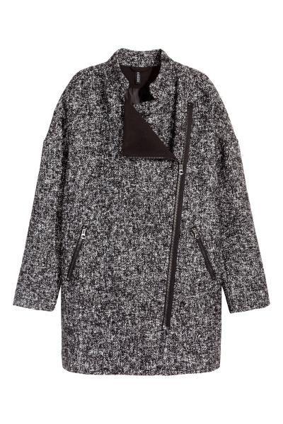 Kabát z vlněné směsi | H&M
