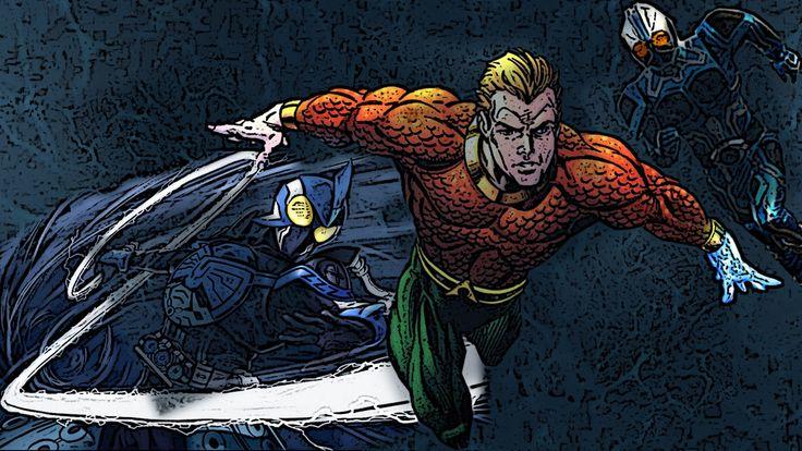 Aquaman Vs Kamen Rider Aqua OOO shauta by Digger318 on DeviantArt