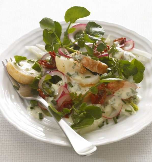 Lobster Salad w/ Watercress - love me some watercress