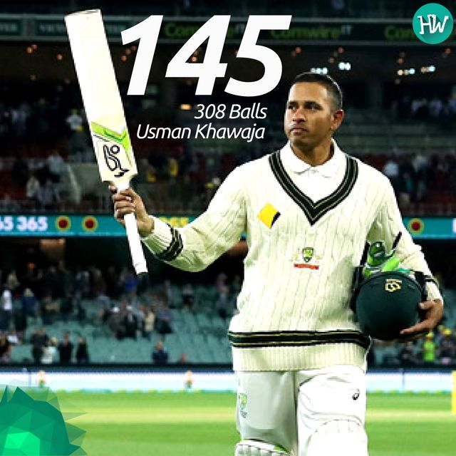 A fantastic innings by Usman Khawaja gave Australia an upper hand in the match! #AUSvSA #AUS #SA #cricket