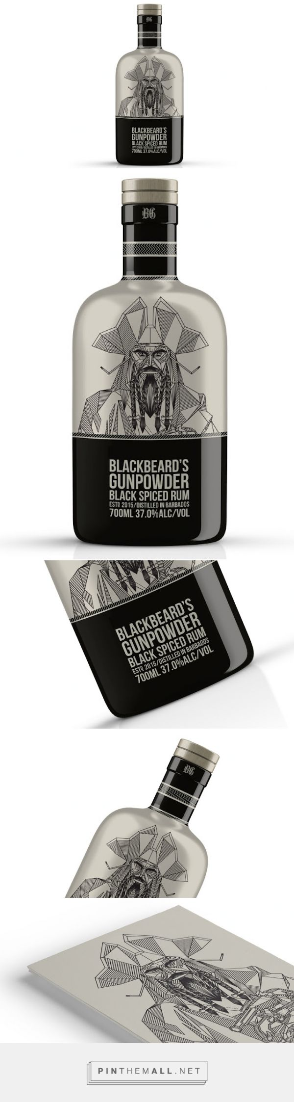 Blackbeard s gunpowder rum concept