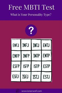 Take this free Myer Briggs test to discover your MBTI type. Of every MBTI test online, you'll find this one to be refreshingly short and simple! via @LonerWolf