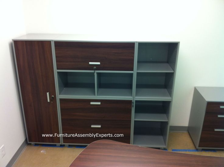staples file cabinet assembled in Washington DC for eagle academy public charter school - call (202) 787-1978