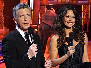 Dancing With The Stars Hosts Brooke Burke & Tom Bergeron