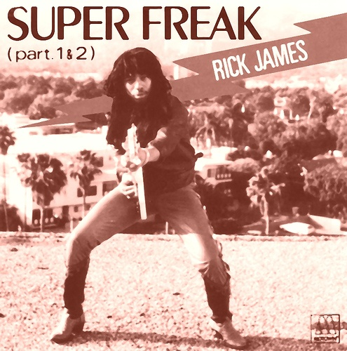"""Rick James:  In the late '70s, when Motown was not doing so well, Rick James came along and rescued the company. """"You and I"""" and """"Mary Jane"""", both on James' debut album, Come and Get It! (Jun 1978) were huge pop hits."""