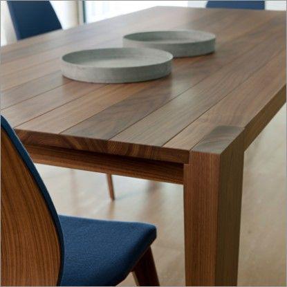 porada baobab rectangular or round table | walnut