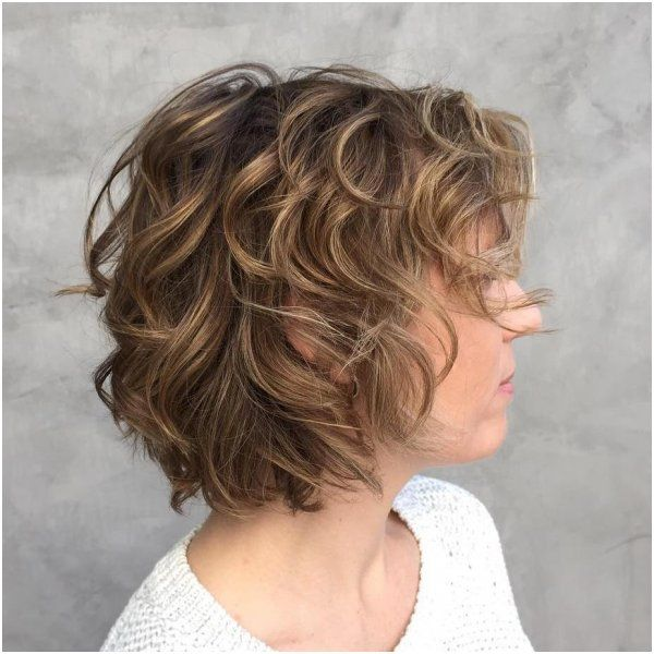 29 Haircut For Thin Curly Frizzy Hair Model