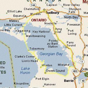 Georgian Bay Ontario Canada Circle Drive by OntarioGuide.com