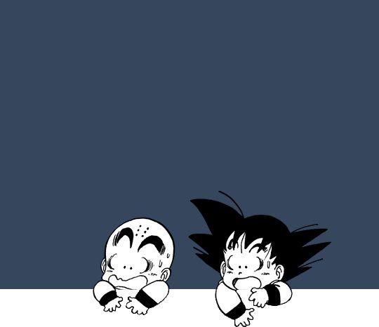 ドラゴンボール - Goku e Kuririn