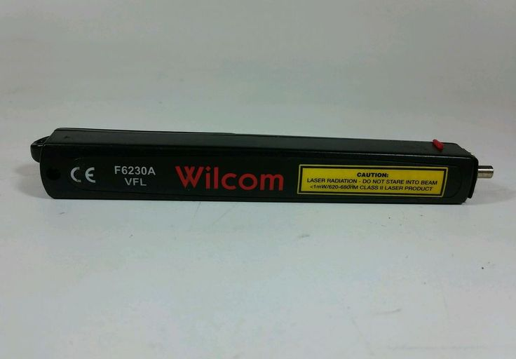 [Wilcom F6230A] Pen-style Visual Fault Locator (VFL), Simple, Compact #Wilcom
