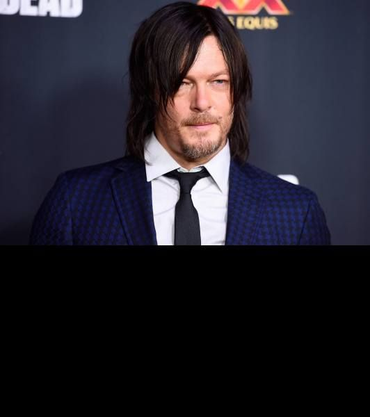 Norman Reedus attends the Season 5 premiere of 'The Walking Dead' at AMC Universal City Walk on October 2, 2014 in Universal City