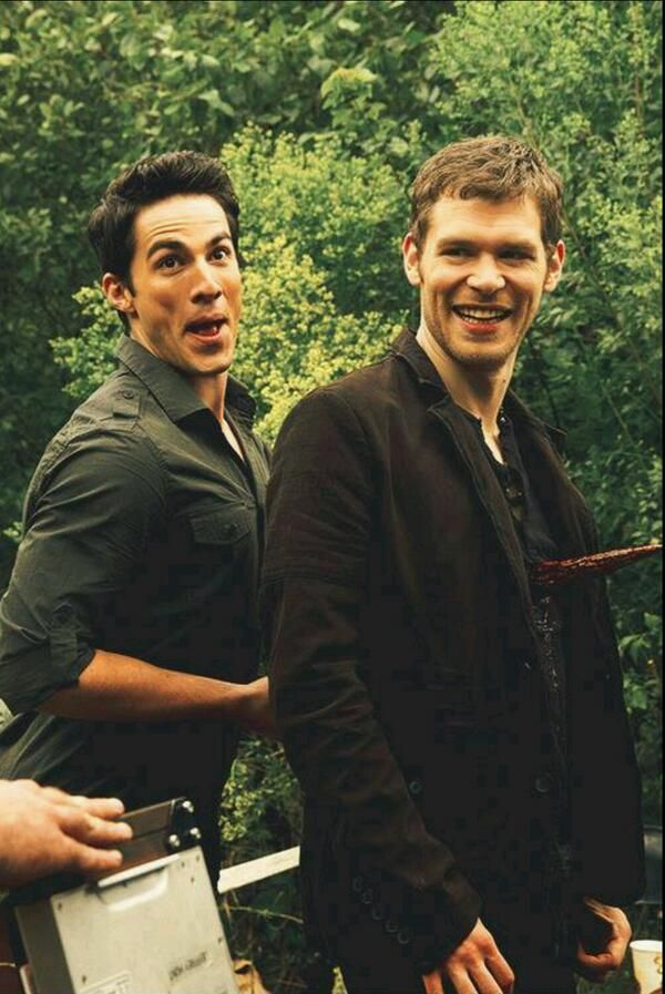 Behind the scenes - The Originals. I love this show and it ties in so well with TVD