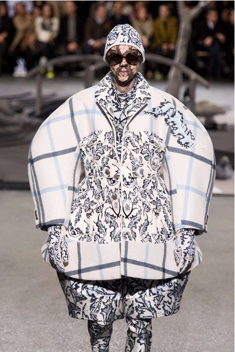 Thom Browne's 2014 Fall Winter menswear collection has some silhouettes that I would never want to see on any man