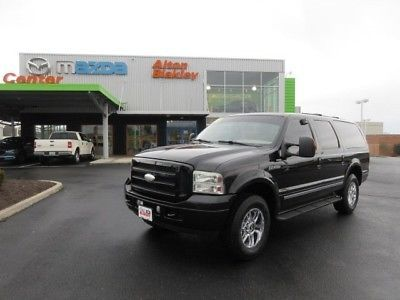 2005 Ford Excursion Limited 2005 Ford Excursion Limited Black 4x4 V10 DVD LEATHER for sale!