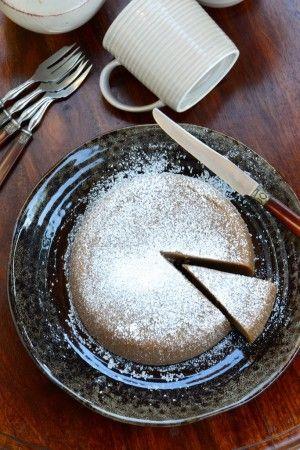 Gâteau très moelleux aux marrons (vapeur douce, sans gluten, ni caséine de lait) - Chestnut's cake (steamed, gluten and dairy free) -  Vanessa Romano-Photographe et styliste culinaire- (6)