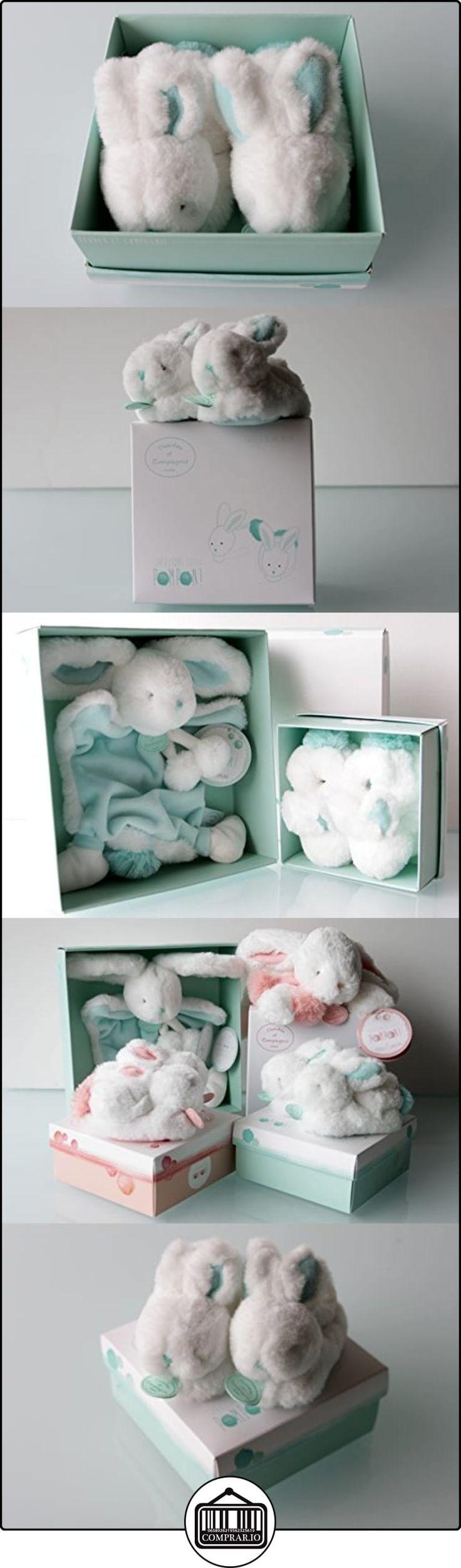 Recién nacido juguetes de felpa Ultra suave bebé conejos-Juguetes, edredones y zapatos (diseñado y hecho en París) azul Almond Talla:Baby Shoes  ✿ Regalos para recién nacidos - Bebes ✿ ▬► Ver oferta: http://comprar.io/goto/B01E0GKULS