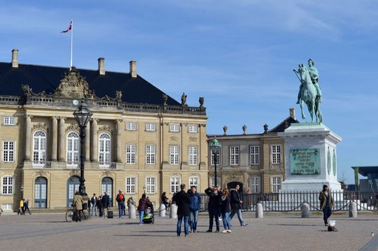 Kopenhagen Schloss Amalienborg