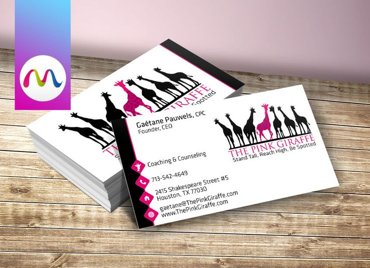 """Check out my @Behance project: """"Logo and Business Card Design for Gaetane Pauwels"""" https://www.behance.net/gallery/46786013/Logo-and-Business-Card-Design-for-Gaetane-Pauwels"""