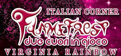 Divoratori di libri.: Italian Corner #11 Flamefrost - due cuori in gioco...