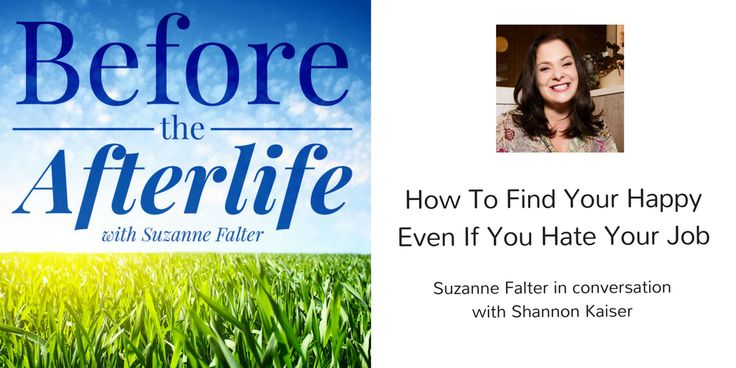 How To Find Your Happy Even If You Hate Your Job with Shannon Kaiser. Have you ever had a job that destroyed our soul? I did, and so did my guest on this episode. But both of us found our way back to an enduring happiness. What it really boils down to is getting clear on your values. I chat with my guest in this episode, Shannon Kaiser, a happiness expert who shares about her experience defining her own values and using them to build a purpose-filled life.