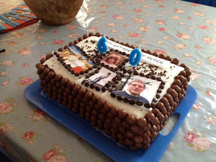 Peters 60th birthday cake