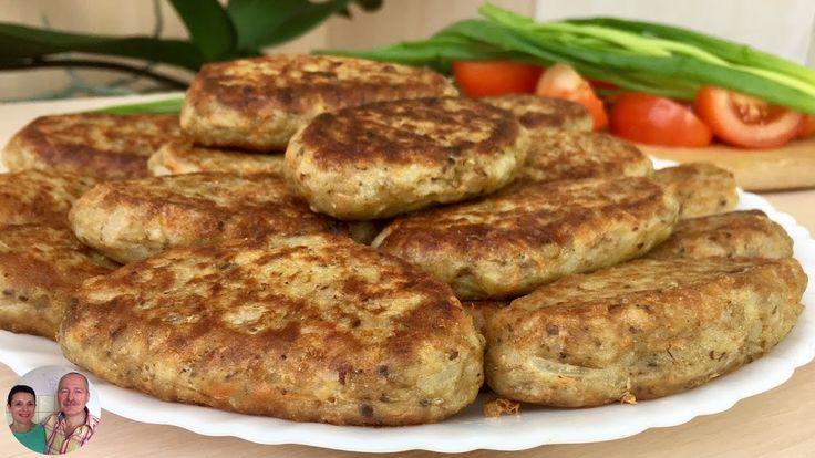 Котлеты из Консервы Сардины с Рисом! Очень быстро и вкусно!