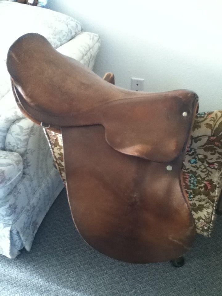 English Equestrian Saddle