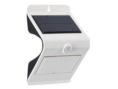 Solární LED světlo s pohybovým čidlem