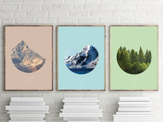 Save the Trees poster Save the planet series 10% by LaChevreCut