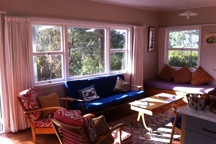 1960s bach - right on the beach front in Pakawau Beach, Golden Bay | Bookabach