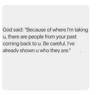 I wish 1000 times I had listened to God. The signs were all there. But he manipulated me into thinking God wanted us together and the devil was giving me doubt. He had only one intention....pulling me back into his muck..... evil