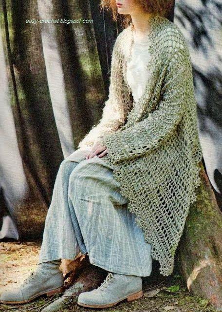 MES FAVORIS TRICOT-CROCHET: Modèle gratuit : Veste ajourée au crochet http://inspirations-tricot-crochet.blogspot.be/2013/11/modele-gratuit-veste-ajouree-au-crochet.html?utm_source=feedburner&utm_medium=email&utm_campaign=Feed:+HomeGardenTricot+%28Home+%26amp;+Garden+TRICOT%29