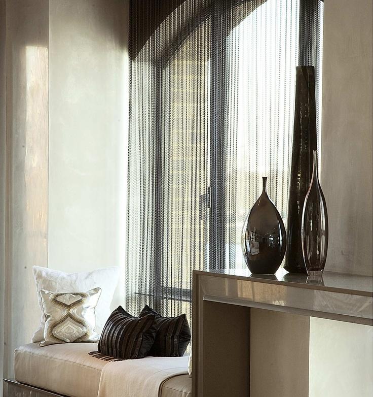113 best aluminium chain curtain images on Pinterest   Blinds, Metal ...