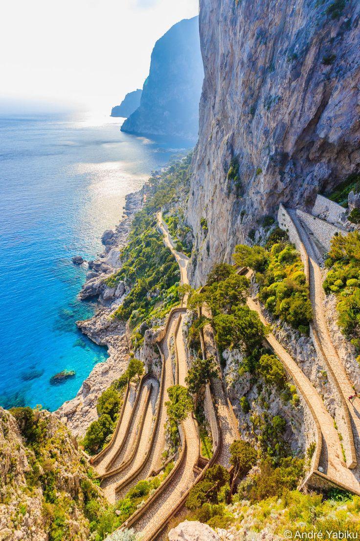 Via Krupp, Capri, Campania, Italy                              …