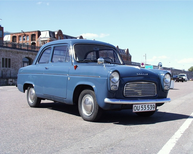 1958 Ford Anglia