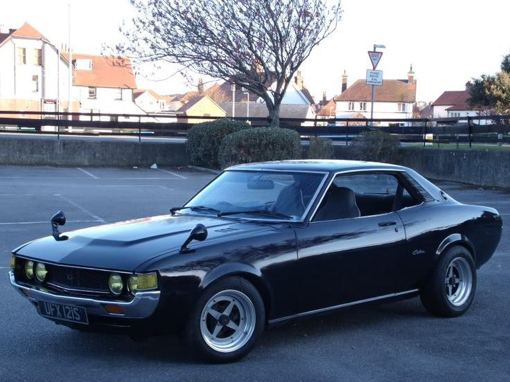 1977 Toyota Celica RA23 On Work Equip 01
