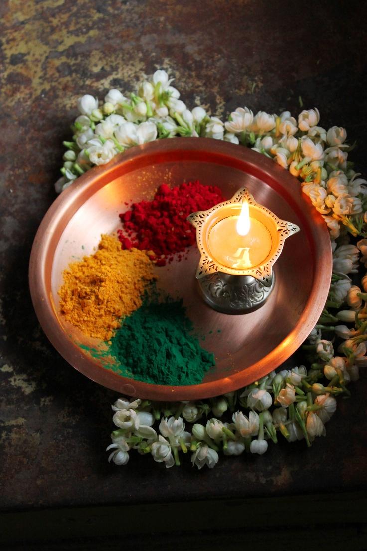 Festive Holi Colours