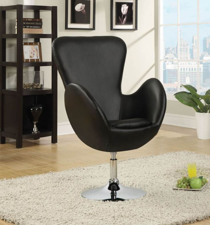 Excellent Black Leather High Back Chair In Carmel Beauty Within Clinic Pabps2019 Chair Design Images Pabps2019Com