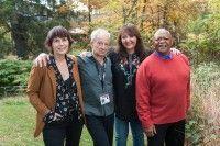 Woodstock Film Festival's Meira Blaustein; director and screenwriter Michael Lessac; BMI's Doreen Ringer-Ross and BMI composer Hugh Masekela.