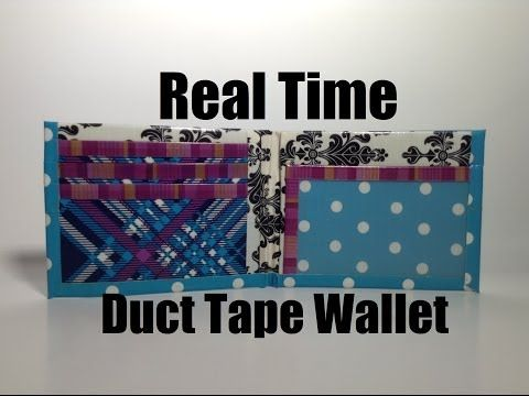 How to Make a Duct Tape Smallet!! - YouTube